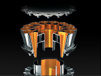 Tehnologia Root Cyclone folosita de aspiratoarele Dyson