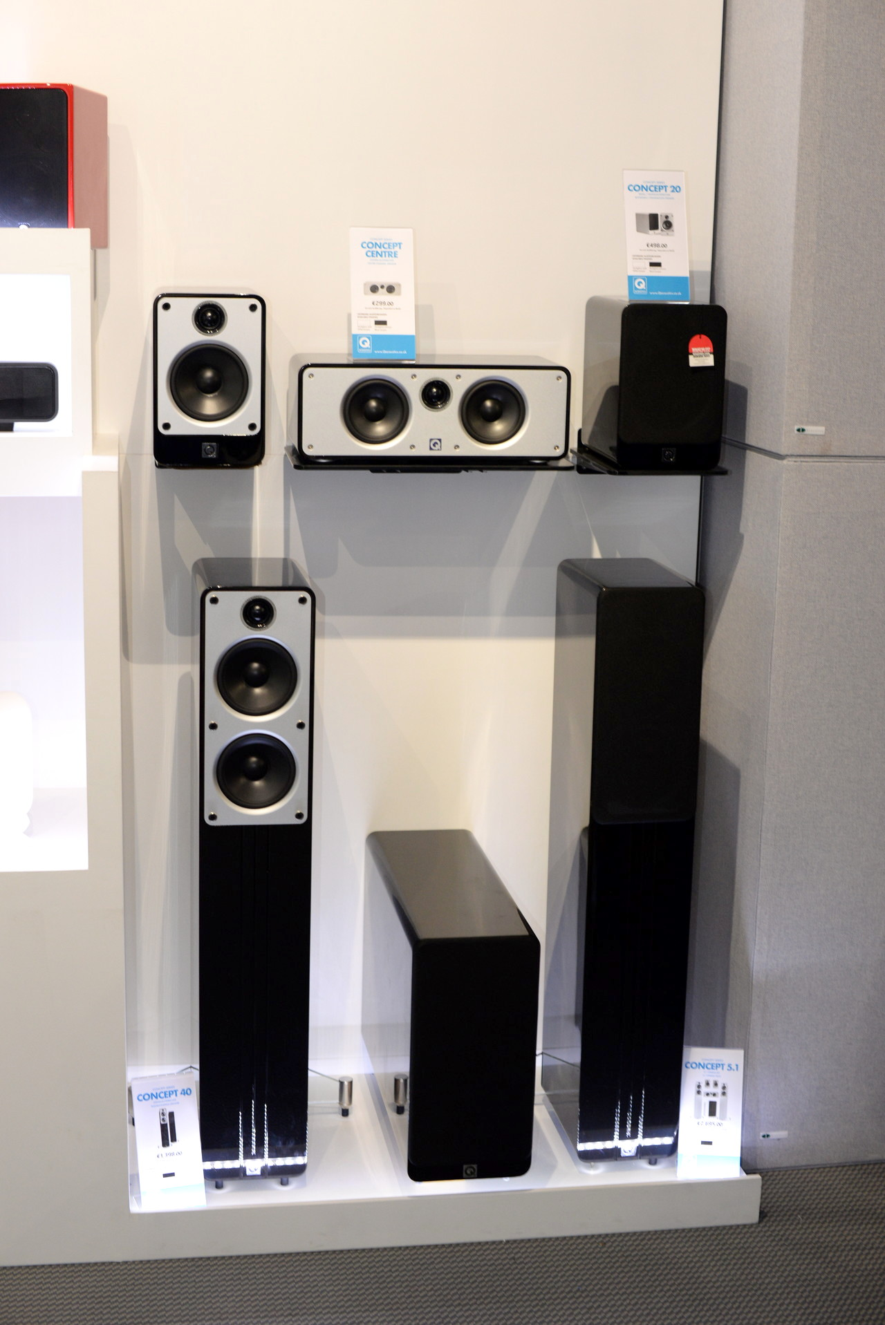 Boxe Q Acoustics seria Concept