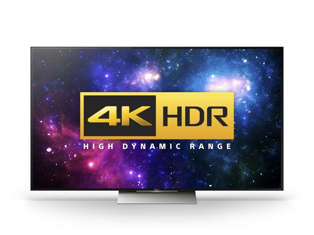 Generatia Sony 2016 4K UHD TV HDR