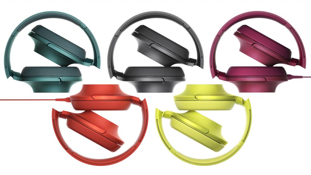 Paleta larga de culori Sony-MDR100AAP