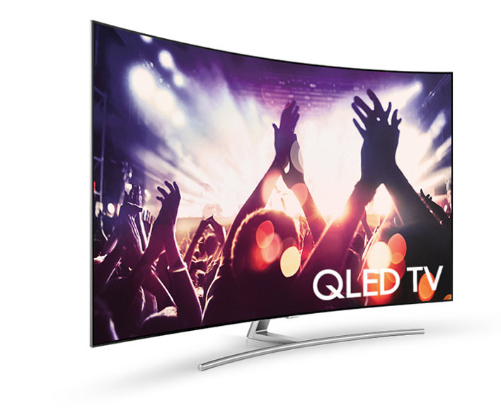 SAMSUNG QLED TV la CES 2017