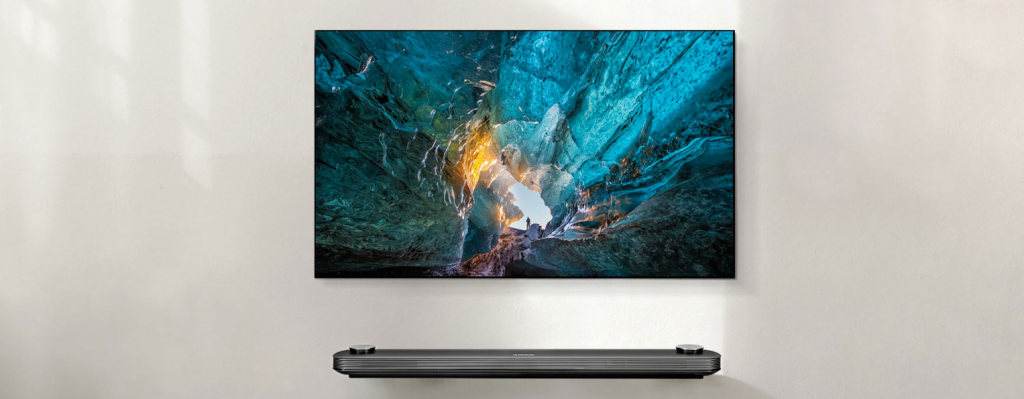 LG Signature TV la CES 2017