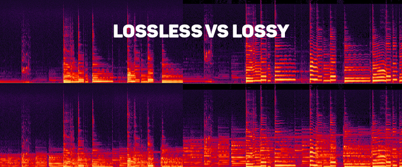 AVstore lossless vs lossy