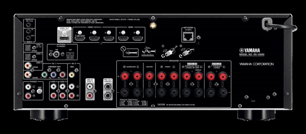 Receiver Yamaha MusicCast RX-V683
