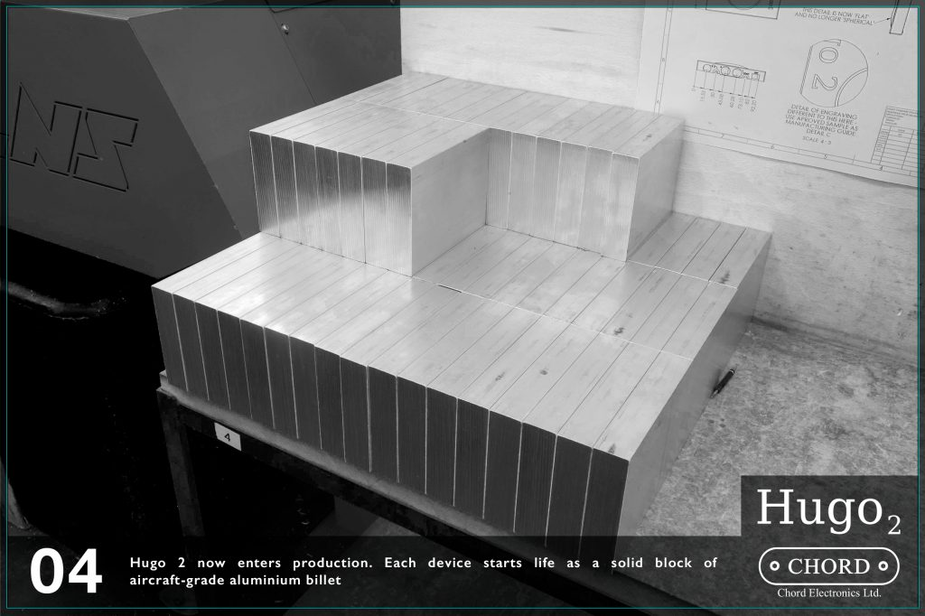 Hugo 2 intra in faza de productie. Fiecare device isi incepe viata sub forma unui bloc din aluminiu de nivel aviatic.