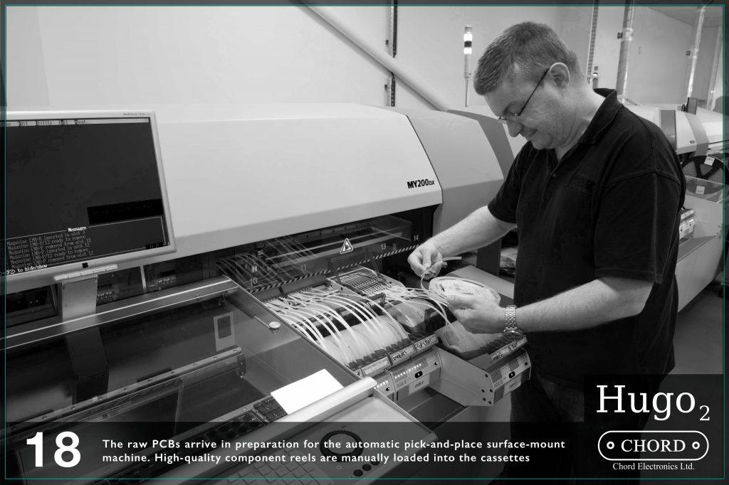 Circuitele imprimate sunt pregatite pentru procedeul automatizat de montare a lor pe suprafete. Componentele de calitate inalta sunt montate mai apoi manual in carcasele metalice.
