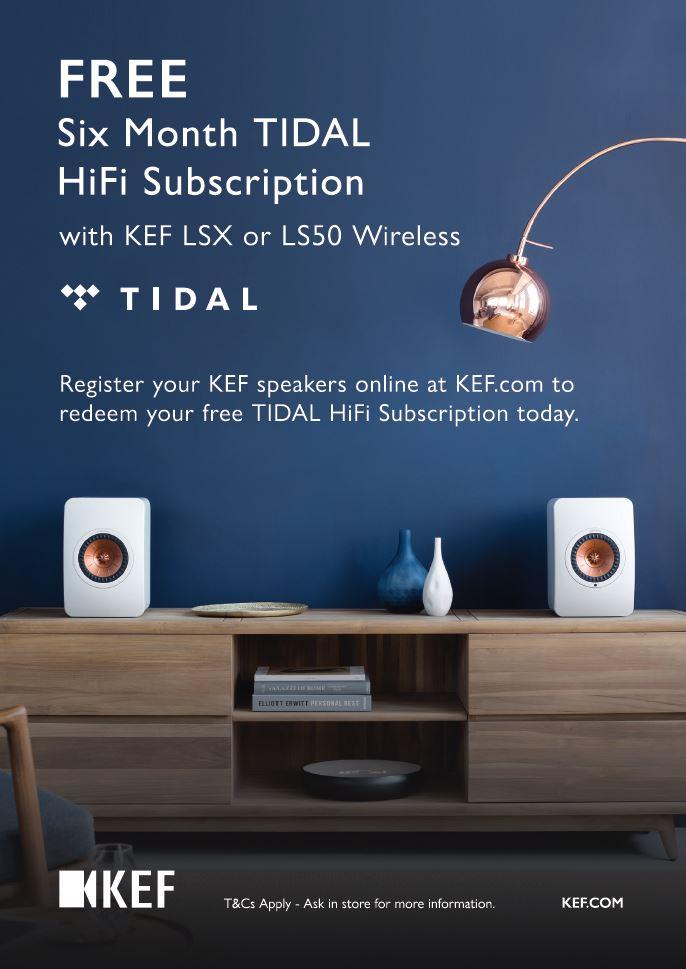 Promotie KEF LSX LS50W