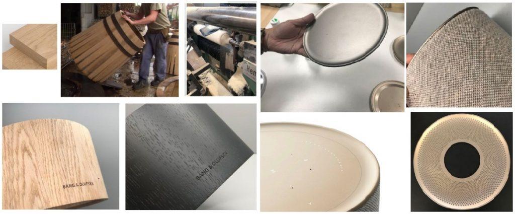 Beosound Balance - materiale componente