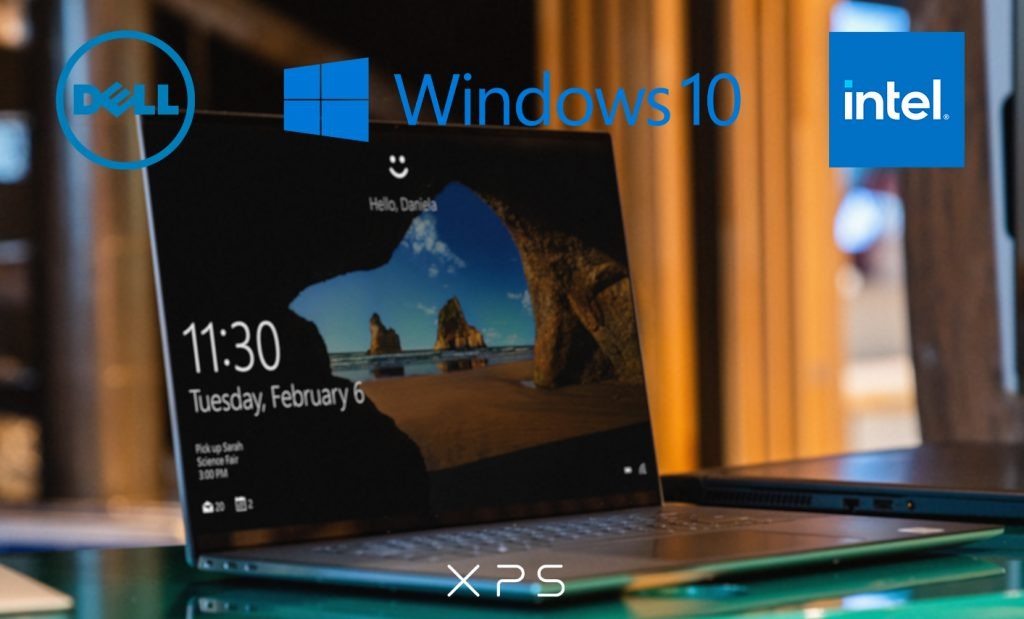 Dell XPS, Microsoft Windows 10 si Intel – un trio de senzatie