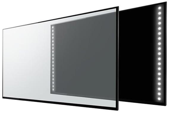 Edge Lit LED - sursa: displayninja.com