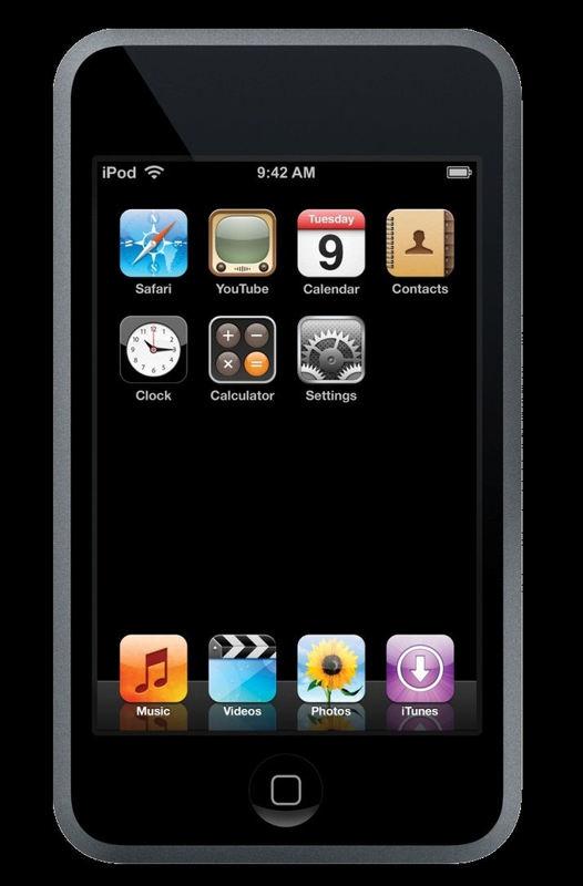 Кастомные и оригинальные прошивки для iPod touch 1g.
